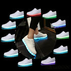 Ladies Womens Light Up LED Luminous Lace Up Trainers Celeb Sneakers Shoes Size