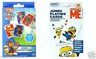 Paw Patrol or Despicable Me Minions Jumbo Playing Cards 1ct Party Favor Toy Game