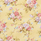 WORLD OF ROMANCE ROSES CREAM RJR SEW QUILTING QUILT COTTON FABRIC *Free Oz Post