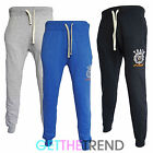 Mens Tokyo Tigers Branded Designer Soft Tapered Leg Skinny Joggers Pants Bottoms