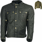 Richa Scrambler Motorcycle Jacket Mens Retro Textile Urban Motorbike Black