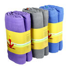 "Non-Slip Magic Yoga MAT Towel 24"" x 72"" Microfiber Sport Absorbent Soft - Pouch"