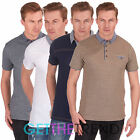Mens Plain Polo Tshirt Mens Button Collar Tee Shirt Mens Summer Top Big Size 5XL