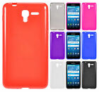 Kyocera Hydro Reach TPU Frosted CANDY Gel Flexi Skin Case Cover + Screen Guard