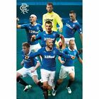 Glasgow Rangers FC Poster Players 90 Football Soccer Scottish League Teams