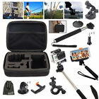 Accessories Kit for GoPro Hero 7 6 5 4 3,Stick Monopod/Car/Bike Mount/Case Cover