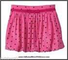 Baby Gap NWT Pink PRINTED HEART CORDUROY DRESS BUBBLE SKIRT BOTTOMS 12 18 24 2T