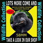 BABY MOUNTAIN GORILLA- PART OF OUR WILDLIFE COLLECTION 58 MM BADGE-FRIDGE MAGNET