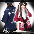japan lolita cartoon fantasy manegi neko cat Taiyaki taro haori blazer JTT1002 $13.98 USD