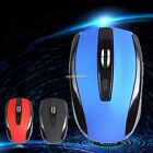 2.4GHz Wireless For PC Laptop Optical Mouse Mice + USB 2.0 Receiver 3 Colors New