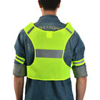 Adjustable Reflective Vest Safety Belt+Arm Band Running Walking Cycling Biking