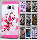For Samsung Galaxy S7 EDGE Tuff Trooper HYBRID TPU Hard Case Skin Phone Cover