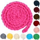 Newborn Baby Soft Photography Prop Wool Rope Backdrop Braided Child Blanket Rug