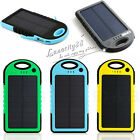 20000mAh Dual USB Solar Battery Charger Power Bank for Emergency Phones Tablet