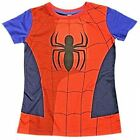 Marvel Comics Spiderman Cotton T Shirt Childrens Kids Top Official Size 2-7 Yrs