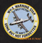 EC-121 WARNING STAR WV WILLIE VICTOR PATCH LOCKHEED USS US NAVY PIN UP NAS ASW