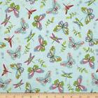 PRETTY LITTLE THINGS BUTTERFLY 100% COTTON QUILT SEWING FABRIC *Free Oz Post