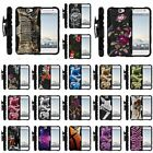HTC ONE A9 & HTC Aero SHOCKPROOF REFINED ARMOR HYBRID CASE w/ BELT CLIP HOLSTER