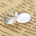 Magnify Base Cover Clear Transparent Glass Cabochon Dome Flat Back Crystal Hot
