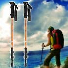 HOMDOX 2Pcs Aluminum Alloy Adjustable Trekking Hiking Mountain Sticks Pole DZ88