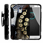 For MOTO X Force   High Impact Belt Clip + Holster Stand Outdoor Hunting
