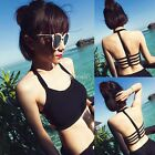 Sexy Womens Backless Crop Tops Strap Blouse Vest Cut Out Shirt Beach Tank CA