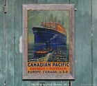 CP Empress of Australia - Vintage Steamship Sea Travel Poster