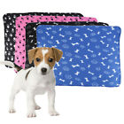 NEW JUMBO LARGE SIZE SOFT DOG PUPPY CAT KITTEN FLEECE PET BLANKETS 100 X70 CM HT