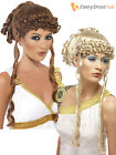 Smiffys Ladies Greek Goddess Wig Adult Helen of Troy Fancy Dress Costume Roman