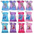 Kids Girls T-Shirt dress costume Princess party Gift dresses Nightgown Sleepwear