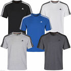 adidas SHORT SLEEVE MULTI COLOUR  CLIMALITE CREW NECK TEE T-SHIRT , SIZE . S-XL