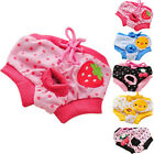 Pet Dog Puppy Diaper Pants Physiological Sanitary Short Panty Underwear