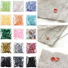 Hot 2000PCS 6MM DIY Oval Round Loose Sequins Paillettes Sewing Wedding Craft