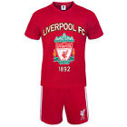 Liverpool FC Official Soccer Gift Mens Loungewear Short Pajamas