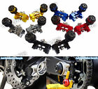 Chain Adjusters Bracket with Swingarm Spools Fit 2014-2016 YAMAHA MT-07 FZ-07