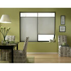 First Rate Blinds Silver 26 to 26.5-inch Wide Cordless Top Down Bottom Up Cellul