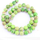 1 Bunch Green Natural Gem Spacer Beads Charm Necklace Chain Jewelry DIY 5Sizes