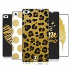 HEAD CASE DESIGNS GRAND AS GOLD SOFT GEL CASE FOR HUAWEI PHONES