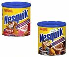 Nestle Nesquik Chocolate or Strawberry Powder Drink Mix ~ 2 Cans