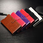 Kickstand Card Pocket Flip Leather Case Cover for Sony Xperia Z5 , E6603 / E6653