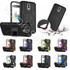 3D Bulge Case For Mobile Phones With Kickstand Heavy Duty Shockproof Cover Skin