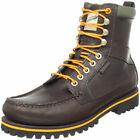 Men's Lace Up Timberland Dark Brown Boots 30549