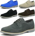 Внешний вид - Alpine Swiss Beau Mens Dress Shoes Genuine Suede Wing Tip Brogue Lace Up Oxfords
