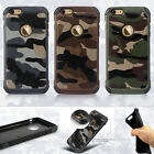 Camo Hybrid PC+TPU Shockproof Army Military Hard Case For iPhone 5S 6 6S Plus