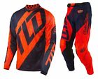 NEW 2017 TROY LEE DESIGNS GP AIR QUEST MX GEAR COMBO FLO ORANGE/ NAVY ALL SIZES