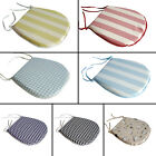 Tie on Seat Pad Chair Cushion Indoor Outdoor Garden Kitchen Animal Plain Check