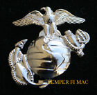 SILVER US MARINES CORPS EAGLE GLOBE ANCHOR HAT PIN UP EGA FMF USS MCAS MCB USMC