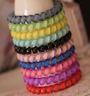Women Telephone Line Hair Ring Jewelry Candy Color Hair Rings Headband Hair Rope