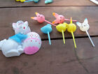 Vintage Easter Cake Cupcake Decorations  You Chose Grou