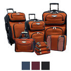 Travel Select by Traveler's Choice Amsterdam II 8-piece Deluxe Packing Luggage S